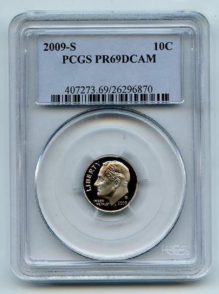 2009-S PCGS PR70DCAM Roosevelt  Dime