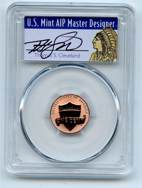 PCGS PR70 LINCOLN CENT PROOF PR 70 DCAM FIRST.. FIRST STRIKE 2019 W W