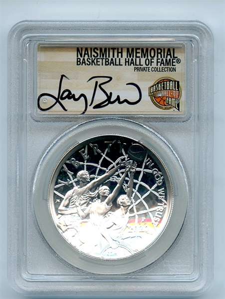 2020-P Proof $1 Basketball Hall of Fame Silver Dollar Colorized PCGS PR69DCAM FS